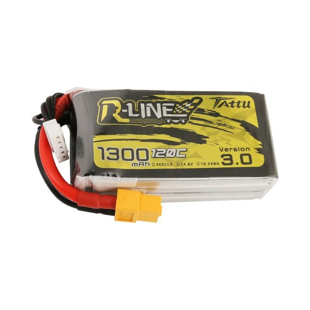 Tattu R-Line Version 3.0 V3 1300/1400/1550/1800/2000mAh 120C 4S 6S 4.2V Lipo Battery XT60 Plug FPV Racing Drone RC Quadcopter 2