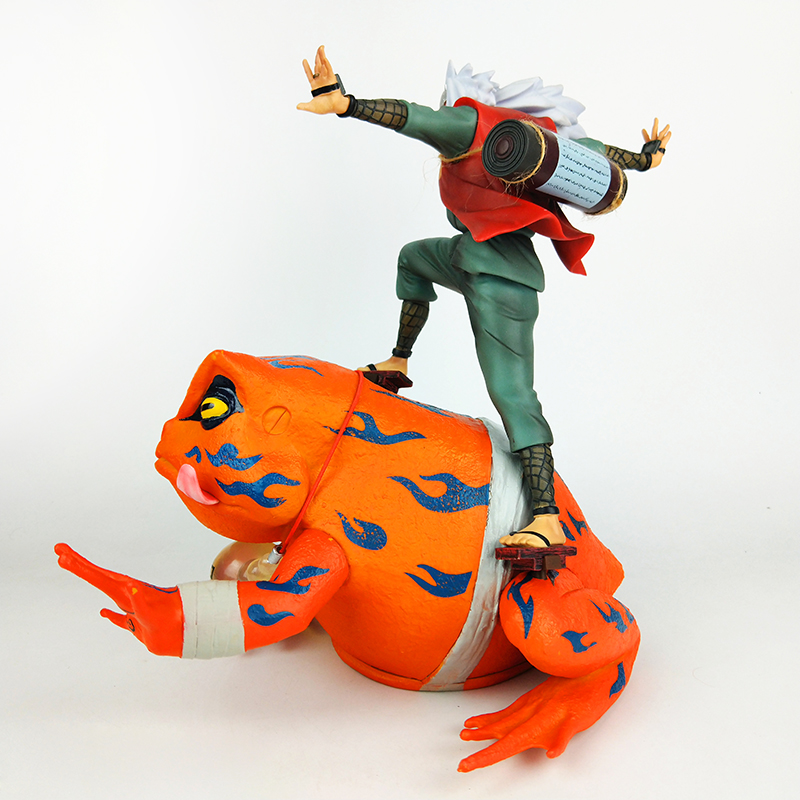Anime Naruto Shippuden Gama Sennin Jiraiya Necromancy Gama Bunta Action Figure PVC Toy Brinquedos Collection 30cm in Action Toy Figures from Toys Hobbies