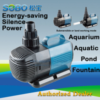SOBO BO 4000A Submersible Water Pump Fish Pond Aquarium Tank Waterfall Fountain 220 240V 25W 4000L/H|Water Pumps| |  -
