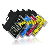 Tinte Patronen Kompatibel für Brother LC 1100 LC11 LC16 LC38 LC65 LC67 LC980 DCP-J140W 145C 165C 185C 195C 197C 365CN