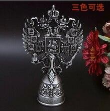 Kreative geburtstagsgeschenk vintage Russland stil zinn-legierung vertikale doppeladler flaschenöffner Werkzeug bar öffner