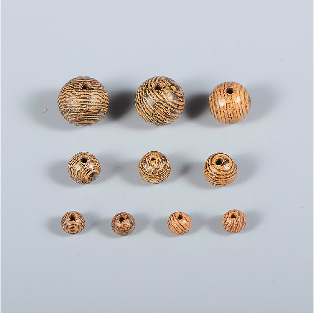 6mm Natural Wood Buddha Beads, Bead Spacer Ball DIY accessories 3 - Quality Store store
