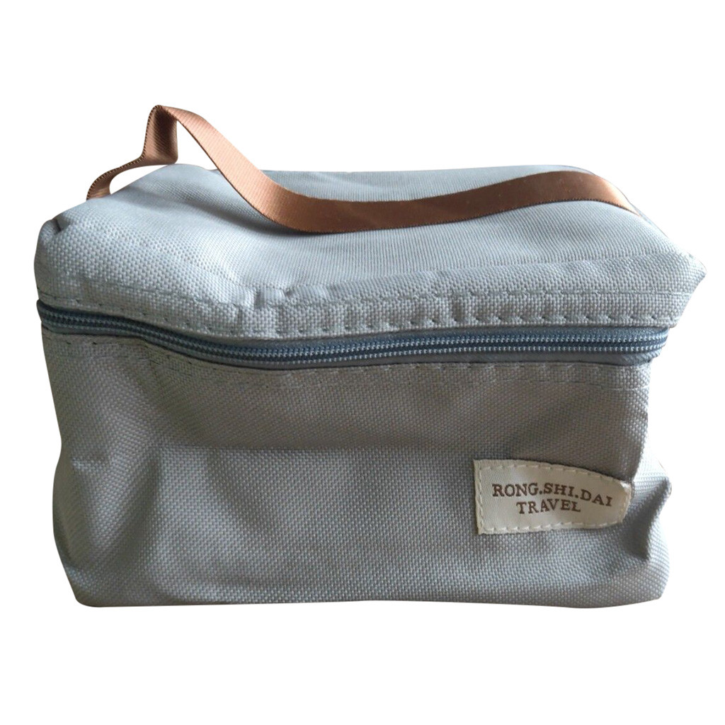 Practical Small Portable Insulation Bag Waterproof Refrigerated Bag Lunch Casual Picnic Bag Lunch Box Food Tote Bag 5H Сумка