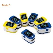 finger pulse oximeter blood oxygen spo2 oxymeter saturation oximetro saturimetro oxymetre pulsioximetro de pulso dedo oximeters