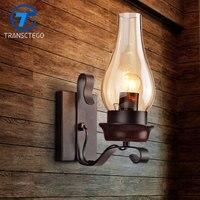 Retro Wall Lamp Loft Industrial Personalized Restaurant Iron Aisle Wall Light