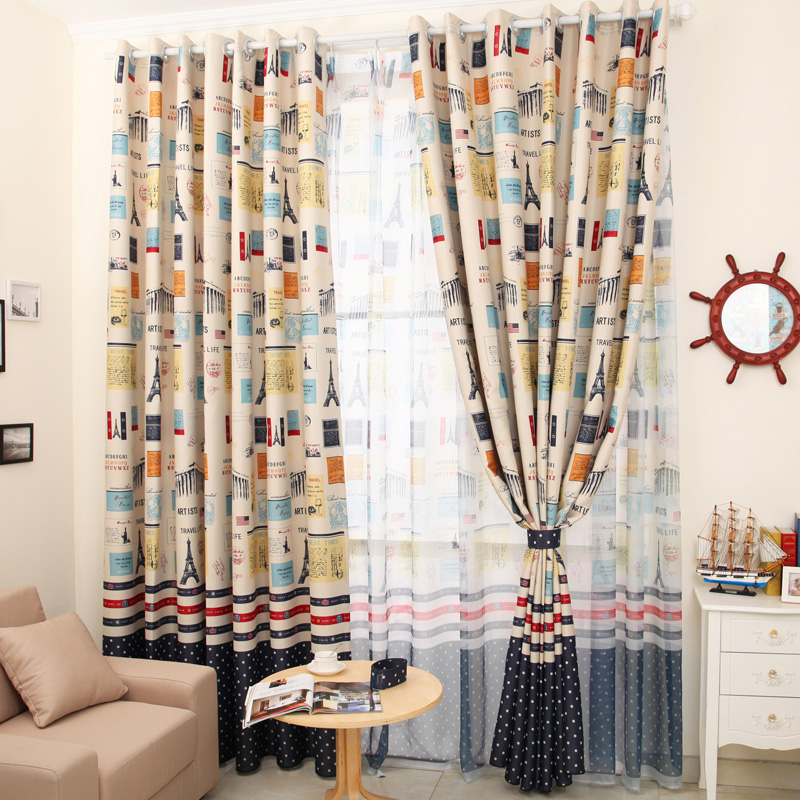 Aliexpress.com : Buy living room curtain Vintage fashion child ...