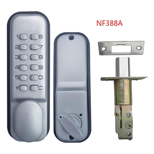 Mechanical Door Locks Keyless Digital Machinery Code Keypad Password