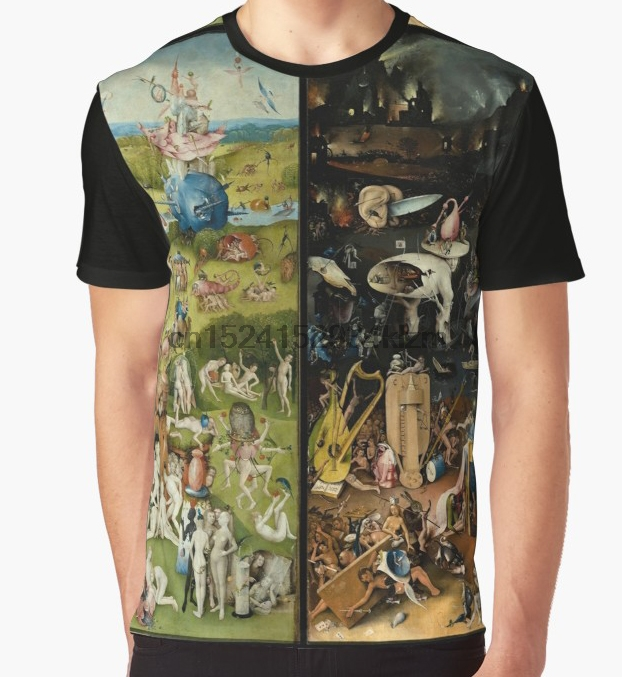 All Over Print T-Shirt Men Funy Tshirt The Garden Of Earthly Delights (1) -  Hieronymus Bosch  Tops Tee Women T Shirt