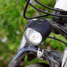 Cycling accessories 40 lux dynamo bike light input AC6V meet German Stvzo standard LED dinamo bicicleta(China)