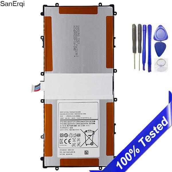 Pour Samsung Google Nexus 10 batterie GT-P8110 HA32ARB SP3496A8H tablette batterie 9000 mAh SanErqi