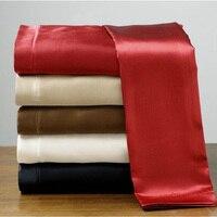 Цвет 100% атласный Шелковый пододеяльник комплект постельного белья  постельное белье  одеяло  свадебные комплекты постельного белья ropa de cama ...