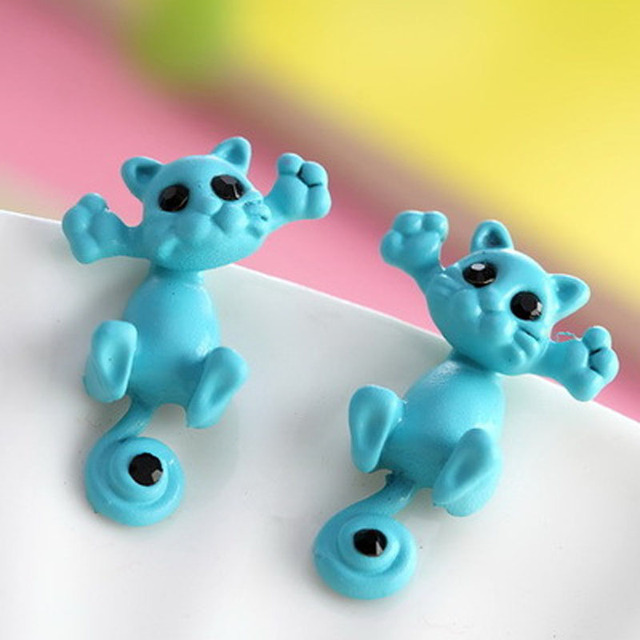 Cute Fine Small Cat Earing
