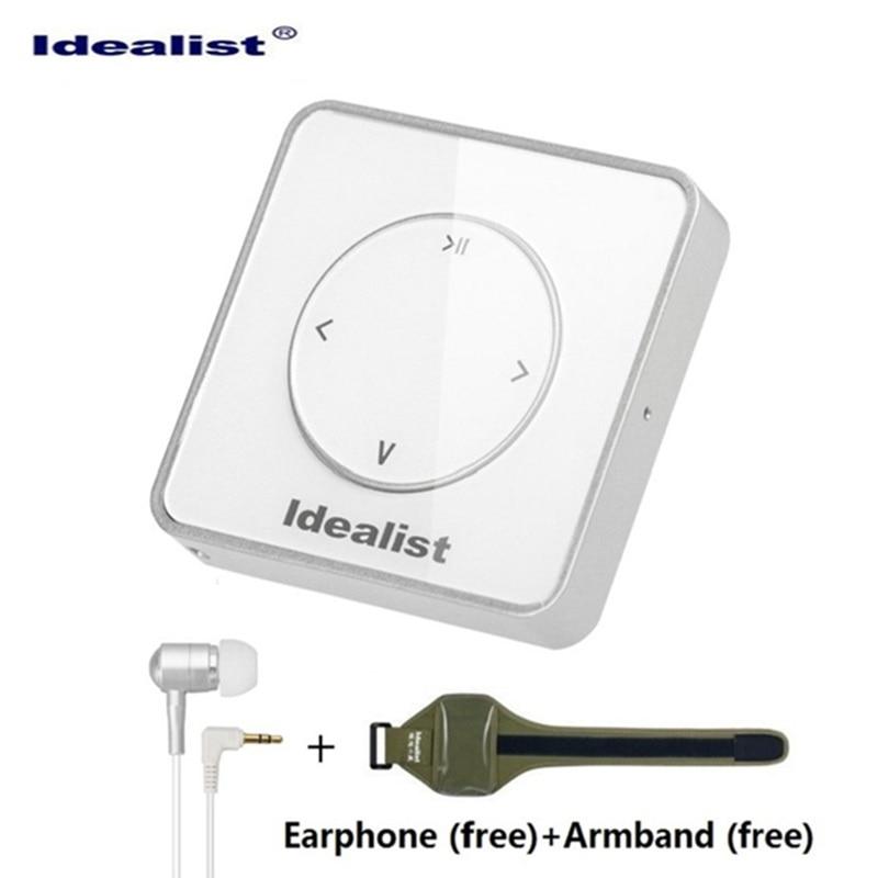Оригинальный идеалист MP3-плееры ультратонких 4 ГБ MP3 USB бренд игрок Портативный мини Спорт Музыка MP3-плееры с повязкой и шнурки