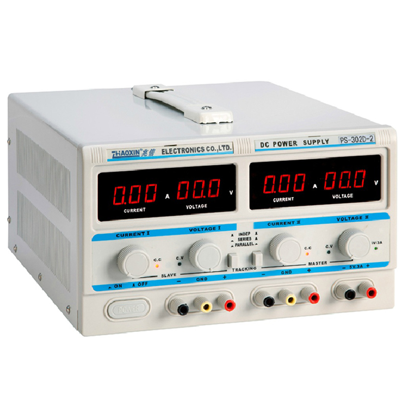 PS-302D-2 30 v 2a Double approvisionnement d'alimentation CC de Puissance Numérique de Laboratoire