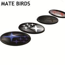 MATE BIRDS Subaru модифицированный логотип лес Лев XV Impreza WRX STI BRZ акриловое углеродное волокно до и после стандарта