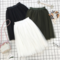 2017 harajuku verão saia longa midi mulheres coreano vintage galpões plissadas saias de cintura das mulheres das mulheres saia longa xs54127