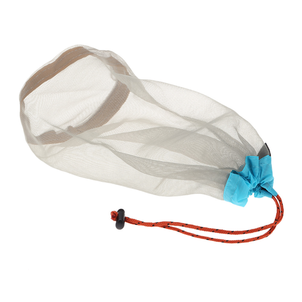 Image 3 - Ultralight Drawstring Mesh Stuff Sack Storage Bag Case for headphones Tavelling Camping Sports Large/Medium/Small Size-in Storage Bags from Home & Garden