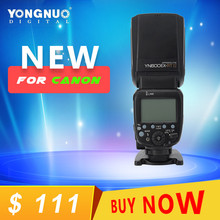Yongnuo yn600ex-rt ii 2.4 г беспроводной hss 1/8000 s мастер-ttl вспышка speedlite для canon камеры как 600ex-rt yn600ex rt ii
