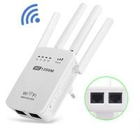 VONTS Draadloze Wifi Router Wifi Repeater 750/1200Mbs Dual Band 2.4/5 GHz Wi-fi Universele Herhaling Signaal versterker EU UK AUPlug