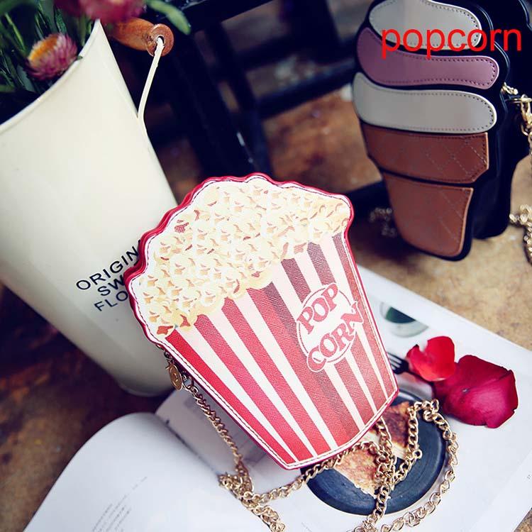 100pcs / lot Moda Slatka Žene Cupcake Sladoled Voće Oblik Crtani - Torbe - Foto 2