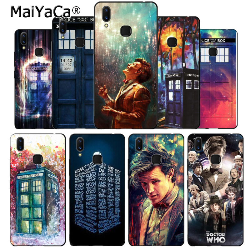 Alert Maiyaca Tardis Box Doctor Who Luxury Quality Phone Case For Vivo V9 X20 X20plus X21 X21 Ud Nex Y83 V7 Y97 Coque Extremely Efficient In Preserving Heat Phone Bags & Cases