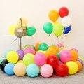 10 шт 12 дюймов 2,2 г смешанный утолщение цветной латексный шар для дня рождения свадьбы украшения принадлежности Макарон воздушный шар