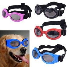 New Foldable Pet Dog Stylish Sunglasses Large Dog Glasses Pet Eyewear Waterproof Dog Protection Goggles UV Sunglasses 4 Colors