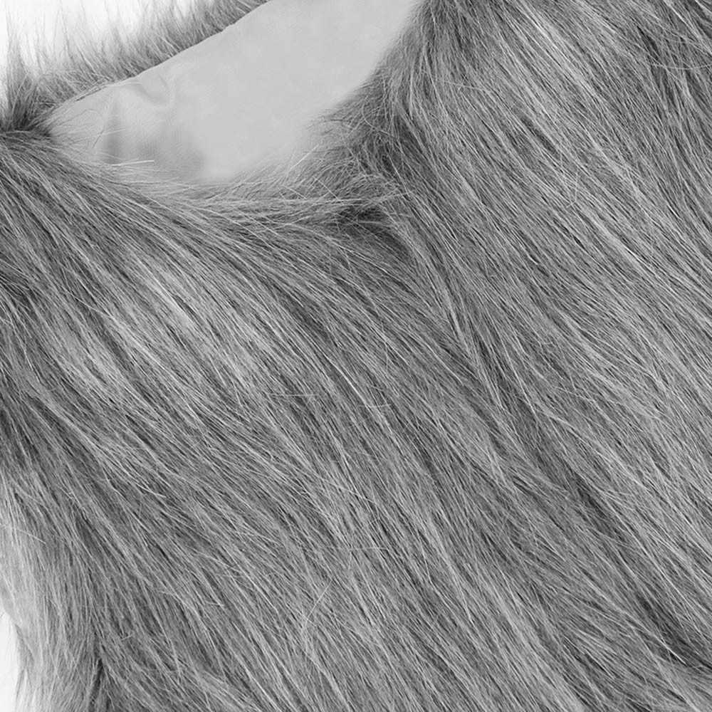 Yelek ceketler yürüyor çocuk bebek kız Faux kürk yelek kalın kolsuz yelek ceket dış giyim çocuk sonbahar kış sıcak giysiler