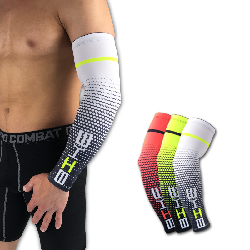 Men's Arm Warmers Men's Accessories 1pcs Running Cycling Uv Protection Arm Sleeves Arm Warmers Basketball Volleyball Bicycle Bike Arm Covers Sports Elbow Pads Attractive Appearance