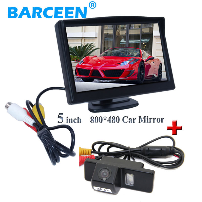 5 car backup display monitor +car reserve camera apply for NISSAN QASHQAI X-TRAIL for Citroen C4/C5 for Peugeot 307 Hatchback atreus 1pcs car auto trailer ring hook vehicle towing hanger for nissan qashqai citroen c4 c5 c3 chevrolet cruze aveo peugeot
