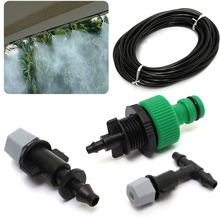 10m Water Misting Cooling Irrigation System Sprinkler Water irrigation +10pc
