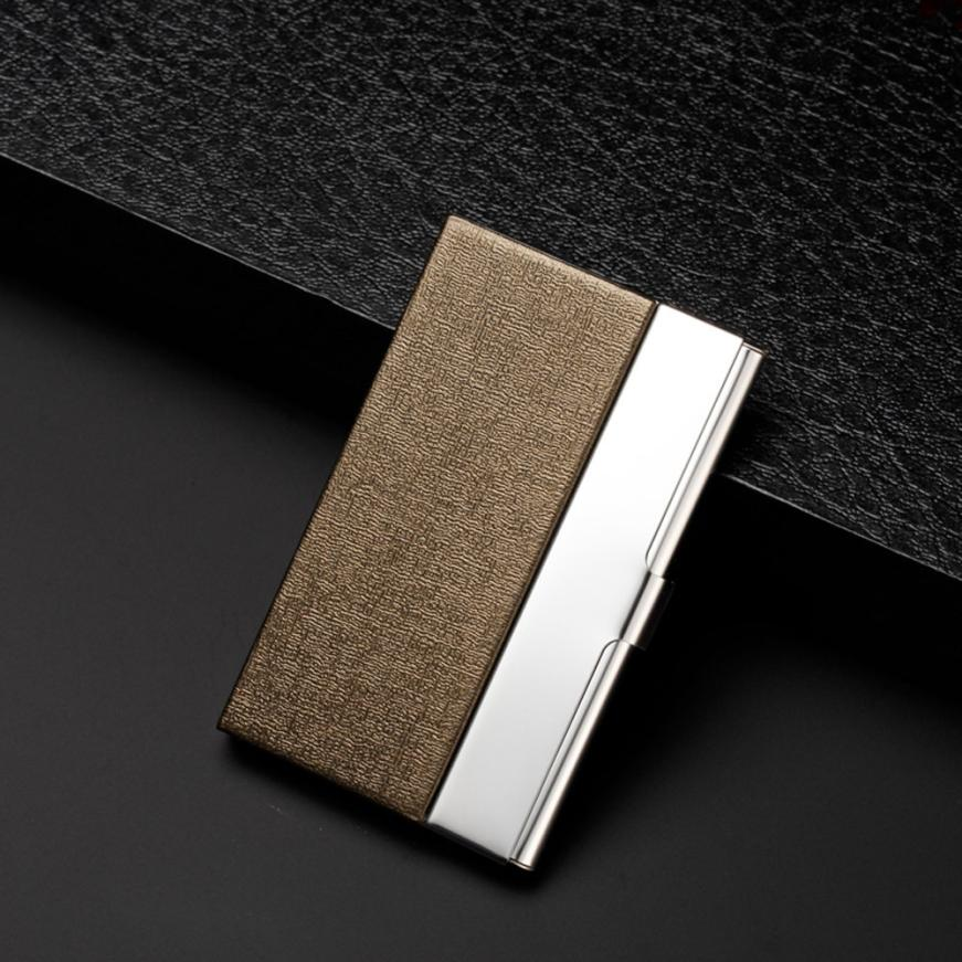 MOLAVE Card holder new high quality Dress Pocket Stainless Steel ...