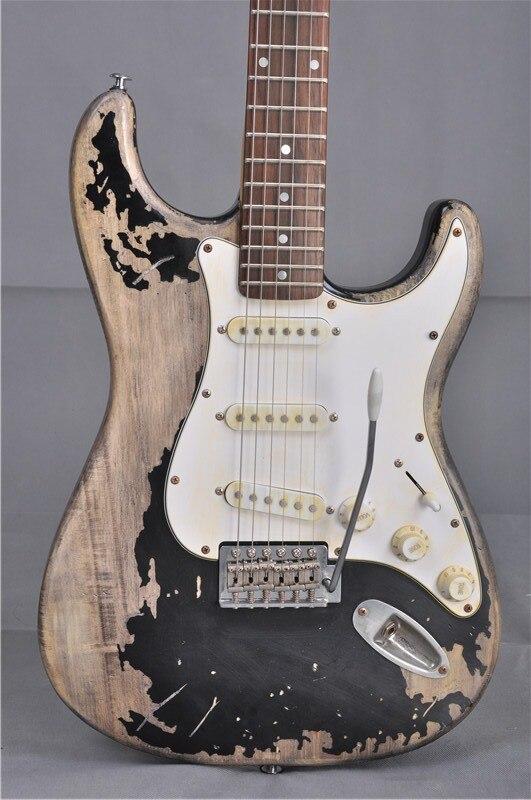 2017 Promotion Musical Instruments Handwork John Mayer Strat Limited Edition 1 Cruz Masterbuilt Heavy Relic St Electric Guitar