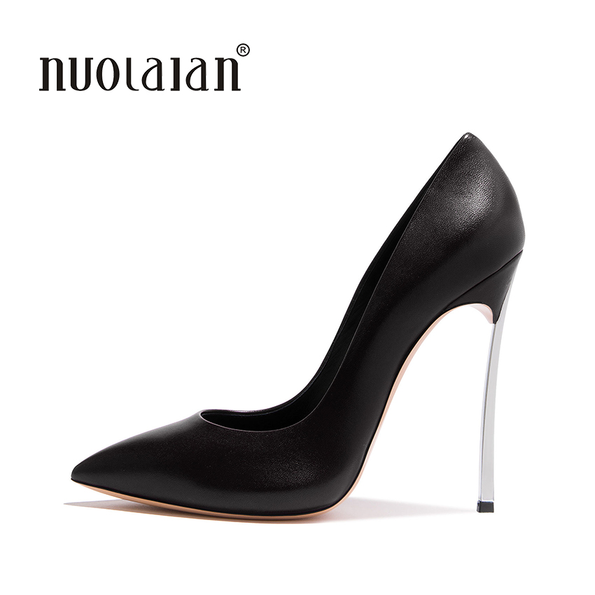 Brand Shoes Woman High Heels Pumps Nude