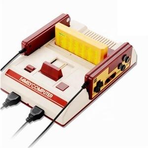 Image 2 - Compatto Video Console di Gioco Con 500 8 Bit Built In Giochi Con 2 Controller Supporto Cartuccia di Gioco