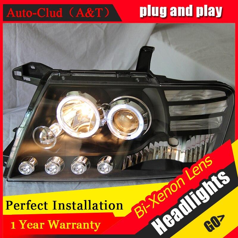 Car Styling Head Lamp for Mitsubishi Pajero headlights Pajero V73 led headlight turn signal drl H7
