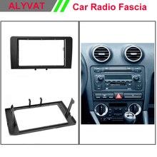 Top Quality Car DVD CD Radio Fascia Frame for AUDI A3 (8P) A3 (8P/8PA) Stereo Facia Dash CD Trim Installation Kit