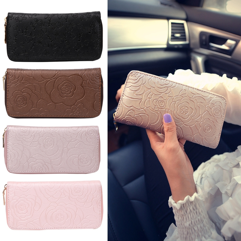 Fashion Girl Women Lady Clutch Wallet Long Card Holder Purse Box Handbag Bag New fashion women leather wallet clutch purse lady short handbag bag women small purse lady money bag zipper luxury brand wallet hot