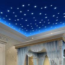 POP товара! 100 шт 3D звезды светится в темноте потолочная Настенная Наклейка s светящаяся флуоресцентная Настенная Наклейка для детской комнаты спальни D