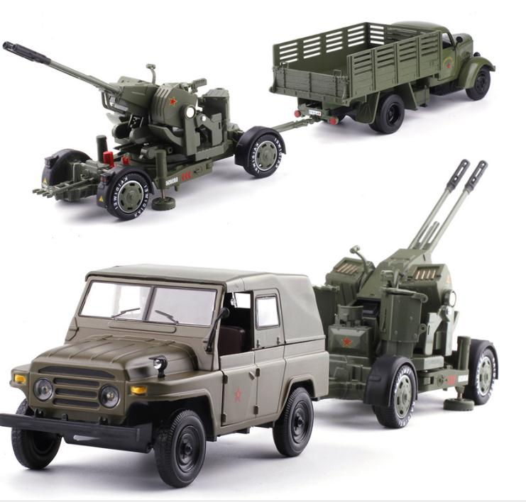 High simulation Jiefang Truck,antiaircraft gun toy,1:32 scale alloy car model,static collection military model,free shipping safurance protective glasses pc scratch safety ride movement wind and dust proof goggles workplace safety