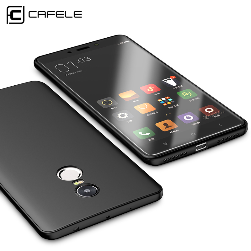 Cafele Original Soft TPU Phone Case for Xiaomi Redmi Note 4 / Note 4X Ultra-thin Protective Cover Case for Xiaomi Redmi Note 4X