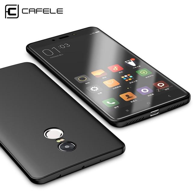 Cafele Original Soft TPU Phone Case For Xiaomi Redmi Note 4 / Note 4X Ultra