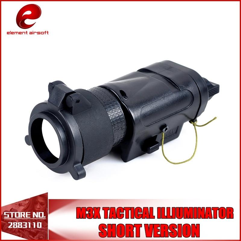 Element L-3 Warrior Systems Light SF M3X Tactical Illuminator US Army Pistol Light EX 185