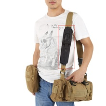 New Outdoor Tactical Molle Accessory Pouch Backpack Shoulder Strap Bag Hunting Tools Pouch Black
