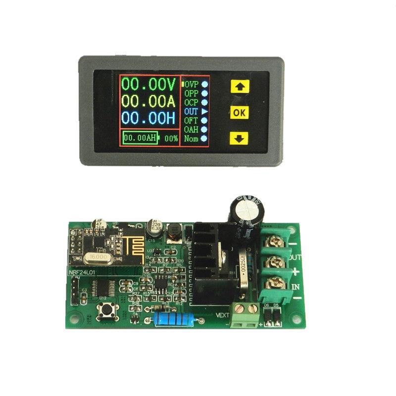New Multifunction Wireless DC Voltmeter Ammeter Power Meter 0-80V 20A  цены