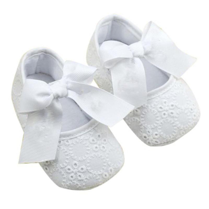 Été automne belle bébé chaussures nouveau-né filles à semelle souple princesse berceau chaussures 6-12 M