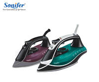 Colorful 2200W Portable Electric Steam Iron For Clothes High Quality Three Gears Ceramic Soleplate 220V Sonifer