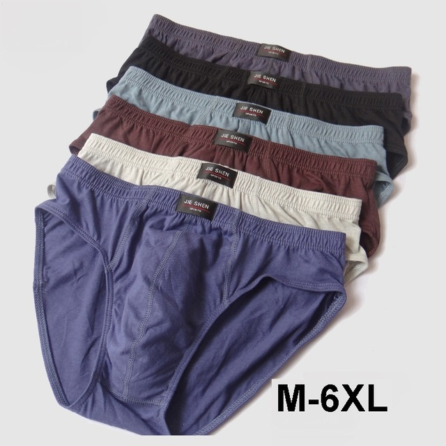 4bcabfbcaaf2b7 New arrival Solid Briefs Factory Direct Sale 3pcs/Lot Mens Brief Cotton Mens  Bikini Underwear Pant Men Sexy Underwear big size