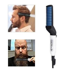 Men Hair Straightener Curler C