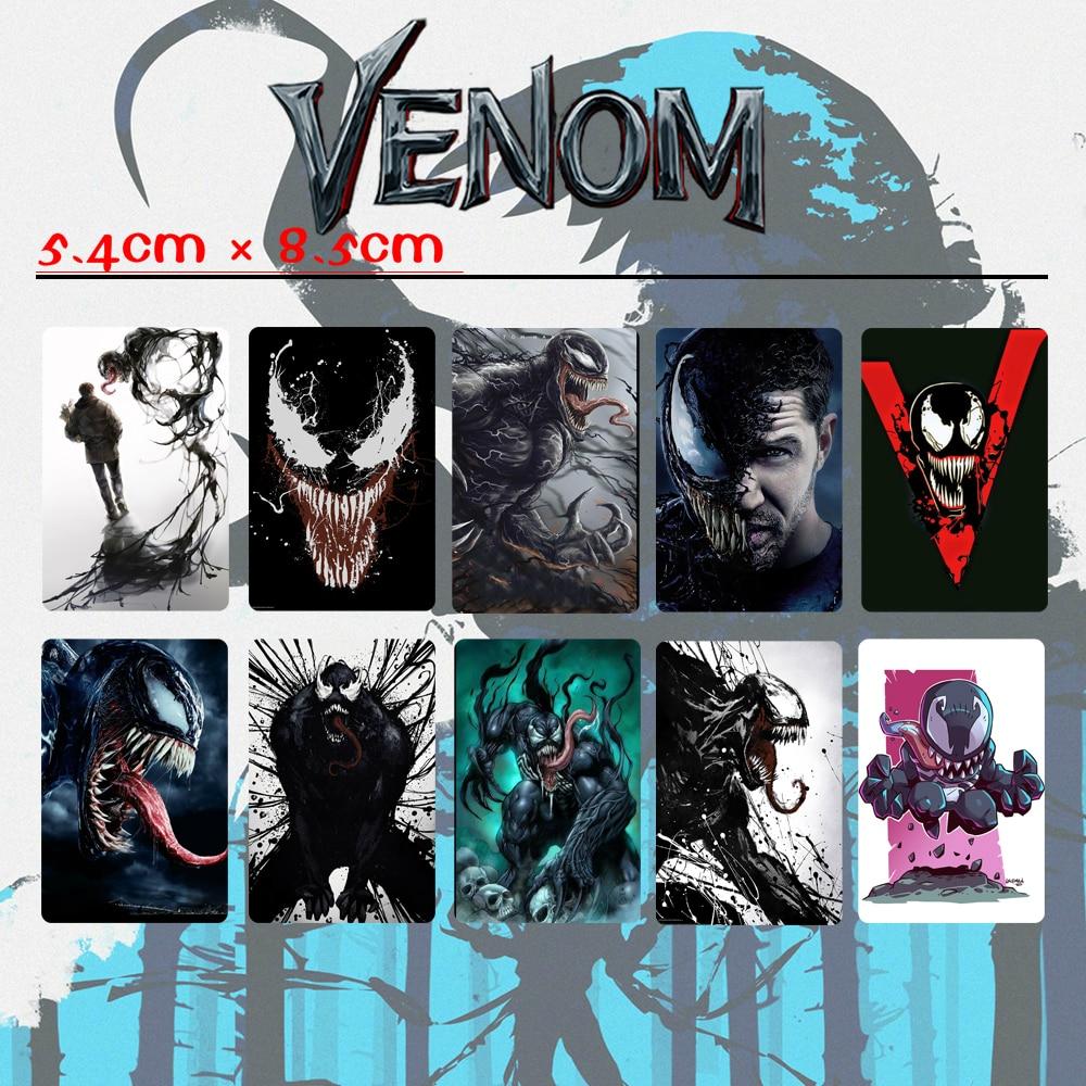 Giancomic Venom Thriller Horror Movie Sticker Card Bookmarks PVC DIY Stickers Waterproof Postcards Accessory Decoration Gifts